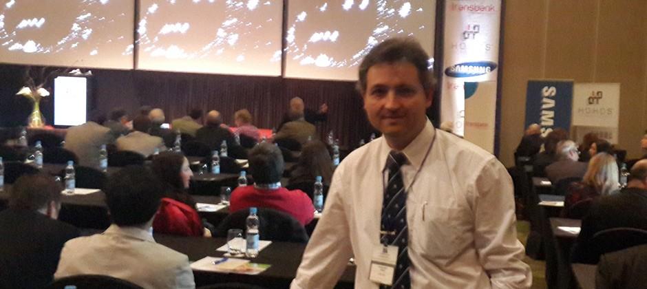 Nel participó en el VI Congreso Hotelero de Valdivia – Chile